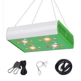 900W Full Spectrum 3000K COB Grow Lamp with UV IR Double Switches