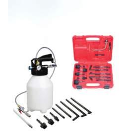 6L pneumatic automatic tranmission fluid changer