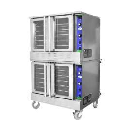 Double Deck Natural Commercial Gas Convection Oven - 108,000 BTU