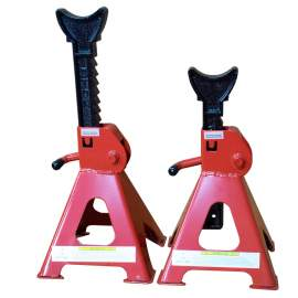 3 Ton Pin-Style Jack Stand Double Lock Cast Ductile Iron Ratchet Bar