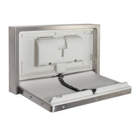 Stainless Steel Surface Mounted Baby Changing Station And Table