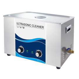 Industrial 30L 7.9 Gal Ultrasonic Cleaner 600W 40Khz SUS304 Tank Heat