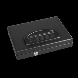 Portable Single Capacity Keyboard Lock Pistol Safe Box 2.4x11.1x8.7 in
