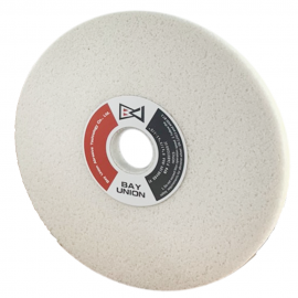 """Surface Grinding Wheel (D)8""""x(H)1-1/4""""x(T)1/2"""": 38A 46H Made In Taiwan"""