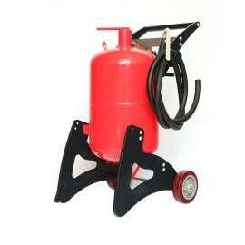 20 Gallon Portable Air Pressure Paint Removing Abrasive Blaster