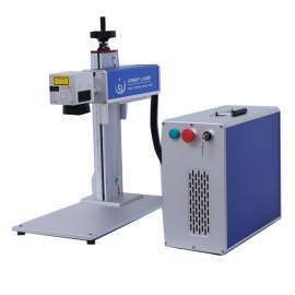 Update Raycus 30W Split Fiber Laser Marking Machine Engrave for Metal