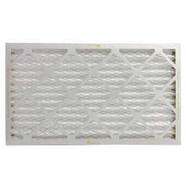 Basic Household 14-in x 24-in x 1-in Pleated Air Filters MERV13 Qty 8