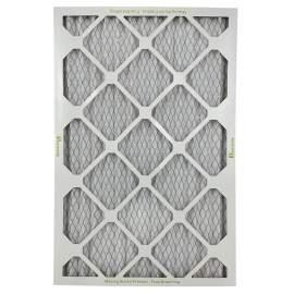 """HVAC Standard Pleated Air Filter MERV13 14"""" x 24"""" x 1"""" Qty 12"""