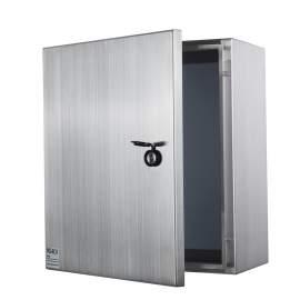 20 x 16 x 8In 304 Stainless Steel Enclosure  IP66