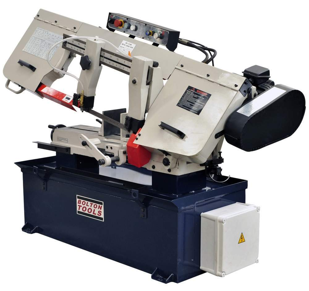 Bolton Tools 10 Inch X 18 Inch Metal Cutting Band Saw With