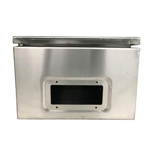16 x 12 x 8 In 304 Stainless Steel Electrical Enclosure IP65 16 Gauge