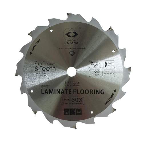 Pcd Fiber Cement Circular Saw Blades 7, Laminate Flooring Blade